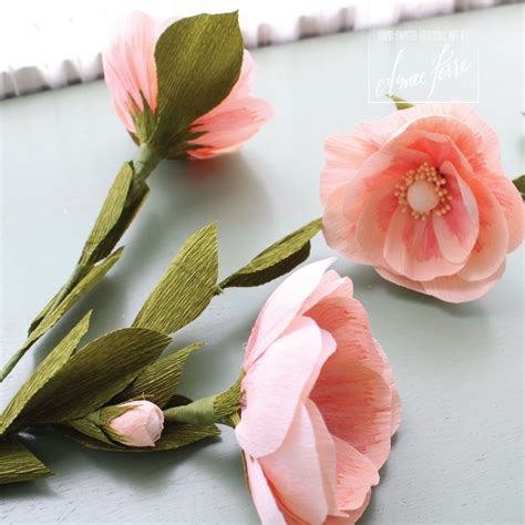 Flower Using Crepe Paper - heirloom crepe paper flower roses diy aimee ferre