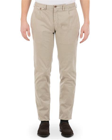 Pleated Slim Fit incotex slim fit single pleated trousers kit hos