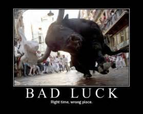 bad luck top 40 demotivational posters