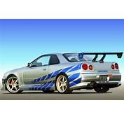 Paul Walker Nissan Skyline R34  Keywords HERE