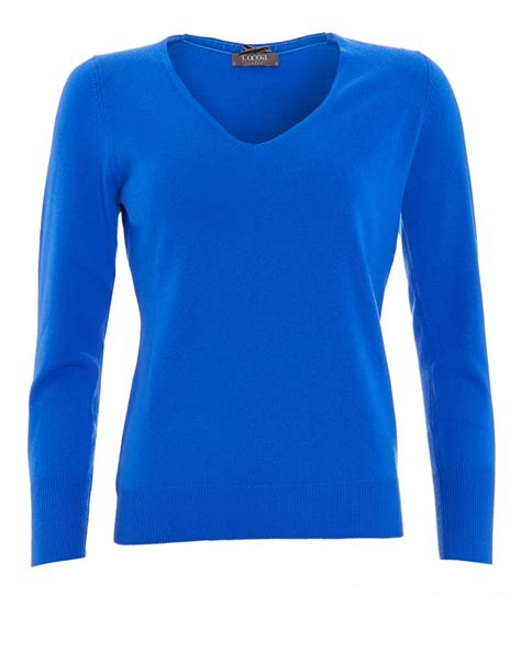 Basic Sweater Polos Sweater Oblong Blue Navy Unisex womens cobalt blue sweater baggage clothing