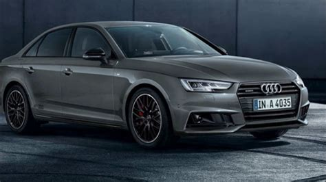 New Audi A4 2018 by All New 2018 Audi A4 Black Edition Release