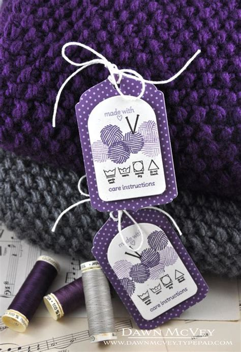 Tags For Handmade Crochet Items - gift tags for handmade items my favorite things