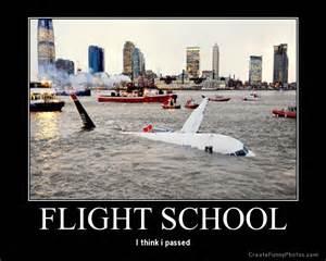 Flight School Ground School No Pilot Left He Flies She Flies