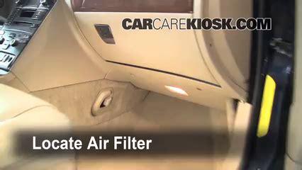volvo xc cabin air filter check  volvo xc    cyl