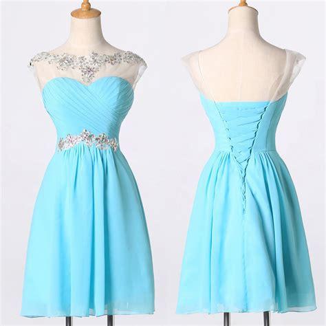 semi formal for js prom short semi prom grad beaded junior dresses party