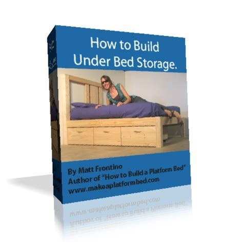 How To Build A Storage Bed by Pdf Diy Building Plans Platform Bed With Drawers