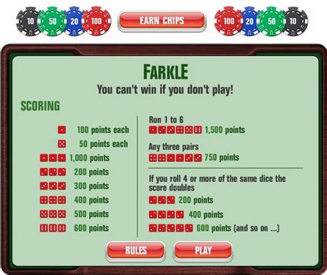 printable rules for farkle dice game farkle google search math games pinterest game and
