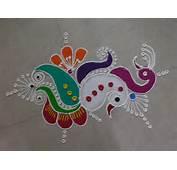 Small Colorful Rangoli Designs