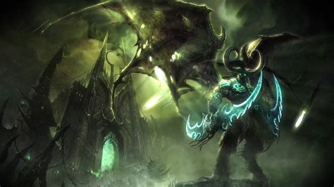 wallpaper engine open from url illidan stormrage by night world of warcraft live