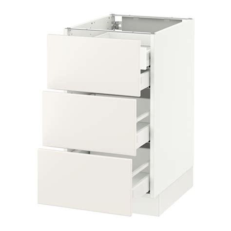max white 4 drawer kitchen sektion base cabinet w 3 fronts 4 drawers white ma
