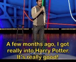 keeping it from harry a comedy books harry potter high school books media hogwarts stand up