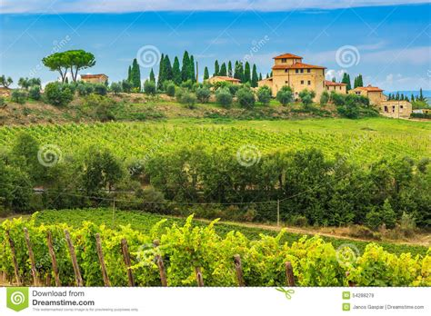 Country Farm House Plans chianti vineyard landscape with stone house tuscany italy