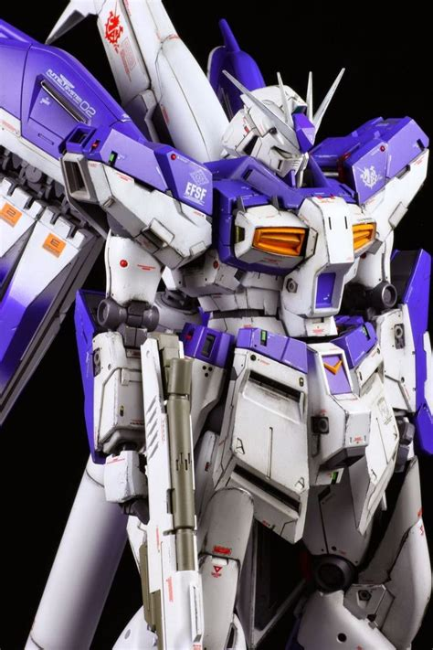 Kaos Gundam Gundam Mobile Suit 28 gundam mg 1 100 hi nu gundam ver ka customized