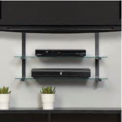 tv wall mounted shelves gallery wall mounted tv shelf