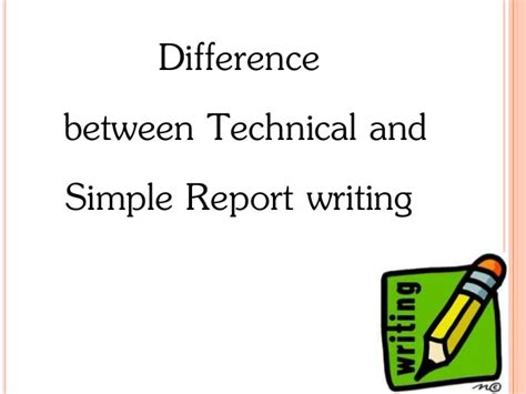 Difference Between Essay And Technical Report by Technical Report Writing
