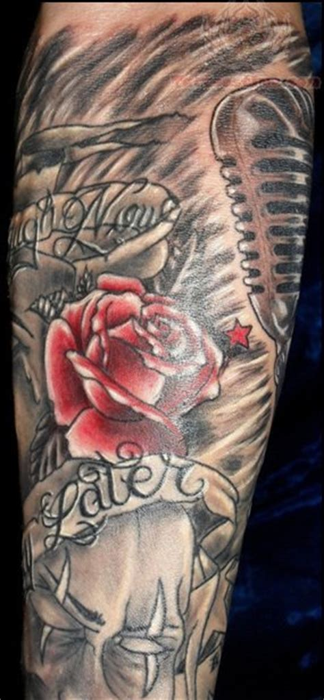 rose tattoos for men sleeve gallery pictures and designs free