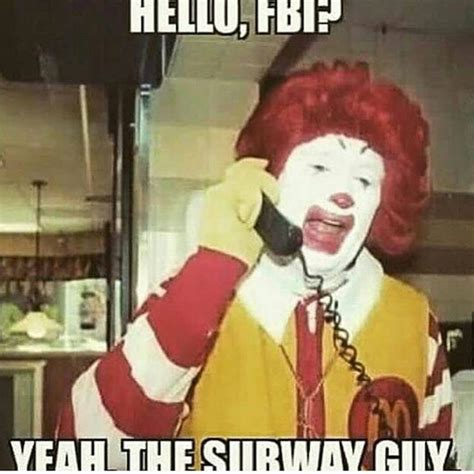 Subway Meme - the internet is already flooded with horrible jared fogle