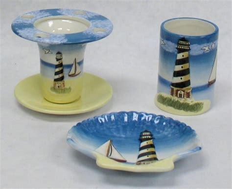 Lighthouse Bathroom Set Lighthouse Bathroom A Touch Of The Sea