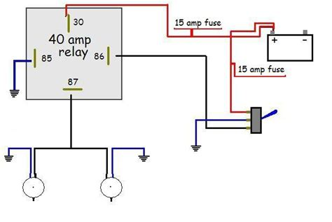 12v 40 50 relay wiring relay free printable