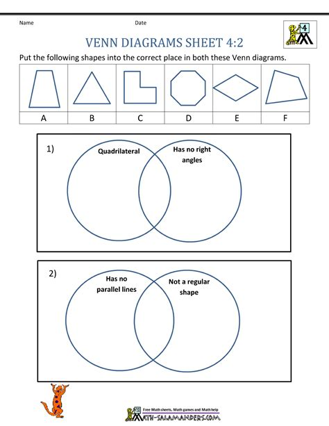 venn diagram maths worksheet image result for 2d grade 2 venn diagram sorting math
