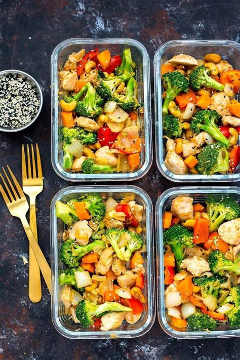 20 easy healthy meal prep lunch ideas for work the girl
