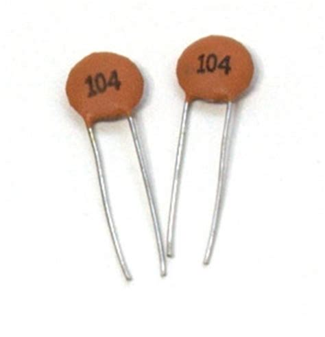 a 1 uf capacitor is charged by being connected komby 100nf 1uf ceramic disc capacitor 177 20
