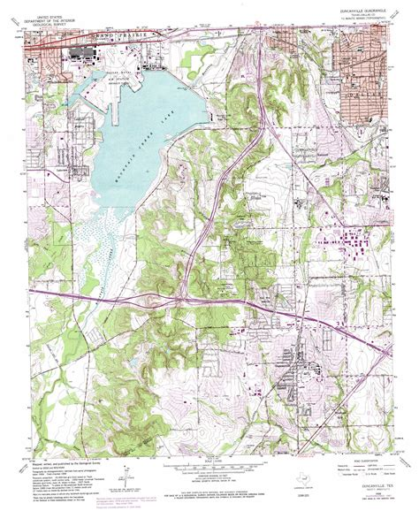 map of duncanville texas duncanville topographic map tx usgs topo 32096f8