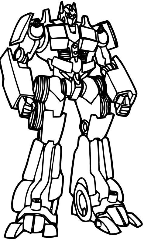 43 dessins de coloriage Transformers à imprimer