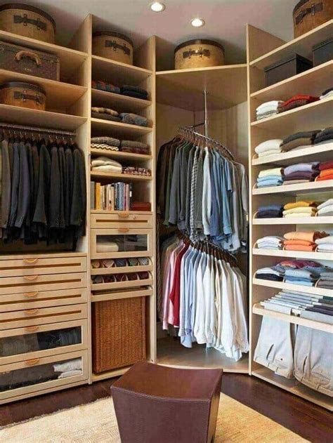 walk  closet ideas  store  clothes efficiently