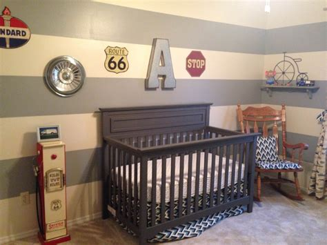 Boy Room Decorating Ideas vintage car themed nursery project nursery