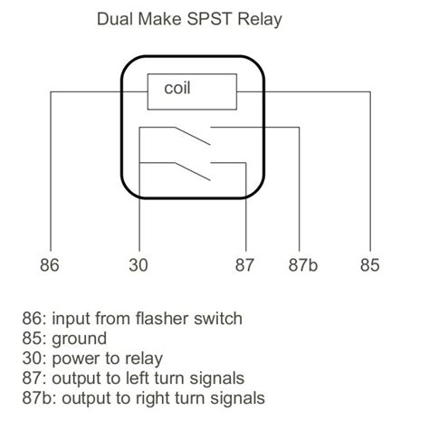 spst relay wiring diagram 28 images 87a relay