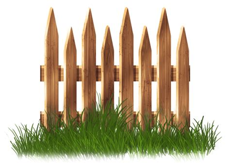 transparent fence garden fence clipart clipground
