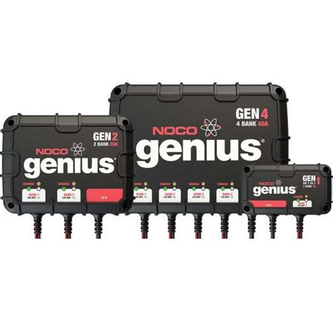 marine onboard battery charger noco genius onboard battery chargers tackledirect