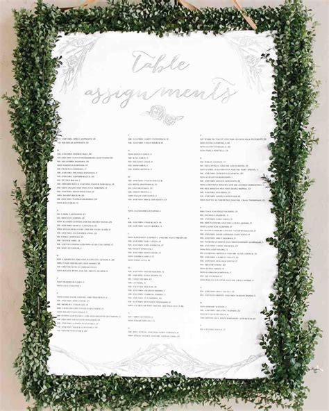building your wedding seating chart the dos and the donts nyc