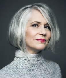 makeup for 60 with gray hair graue haare zeigen bekennen sie endlich farbe madame de