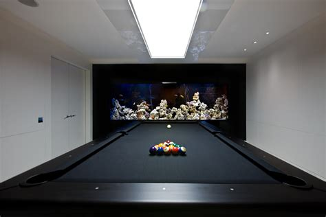 cool pool tables family room contemporary with aquarium black pool table beeyoutifullife