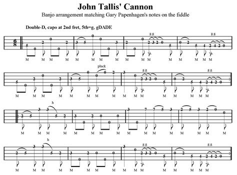 Wedding Bell Fingerstyle Tab by Browse Tabs By Letter J Banjo Hangout