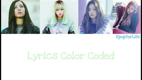 blackpink stay lyrics blackpink stay lyrics color coded hang rom eng youtube