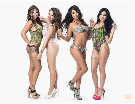pechos hermosos super galeria chicas las chicas de mtv super shore posan en bikini fotos en