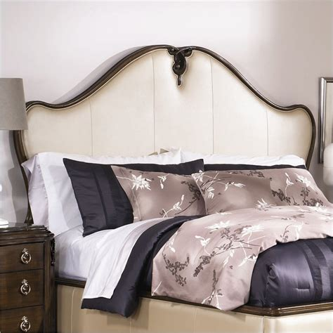 king leather headboard features
