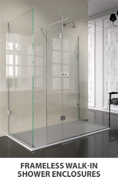Frameless Shower Doors Made To Measure by Frameless Glass Shower Screens Theshowerlab