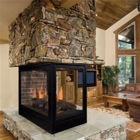 Wood Propane Fireplace Wood And Gas Roof Tiles Fireplaces Stones