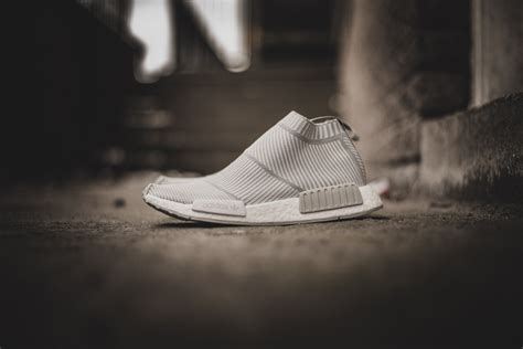 Kith X Adidas Nmd City Shock 2 Grey adidas originals nmd city sock in sneakers