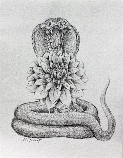 cobra tattoo design dahlia and cobra design by mopotter on deviantart