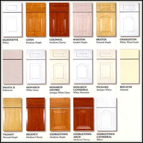 kitchen cabinet door styles and shapes to select home kitchen cabinet door styles names