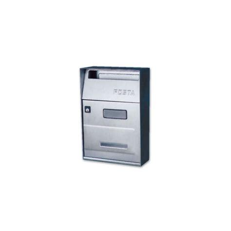cassetta postale inox cassetta postale per esterni in acciaio inox