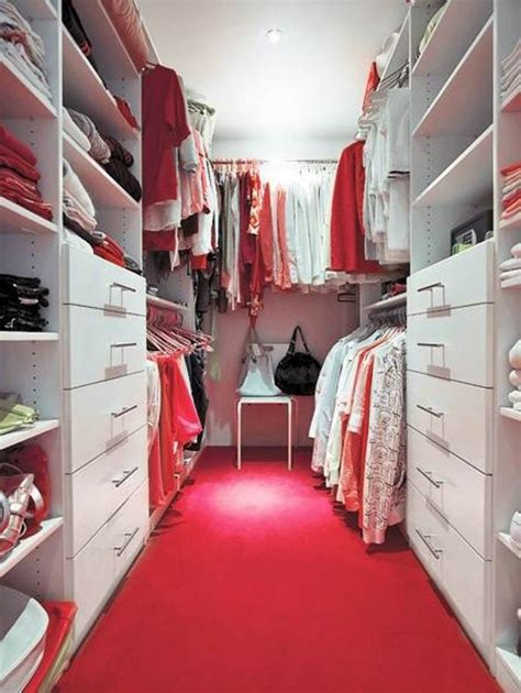 gorgeous colorful walk  closet designs  wow style