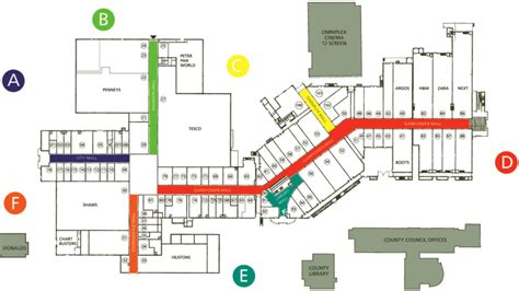 shopping mall floor plan shopping centre floor plan design bookmark 13050