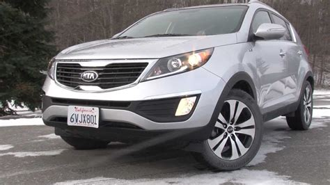 2013 kia sportage drive time review with steve hammes